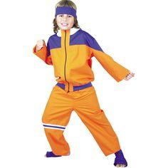 Child's Naruto Style Costume