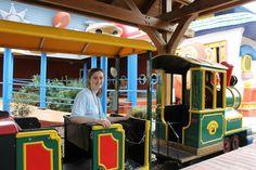 Train ride around the village