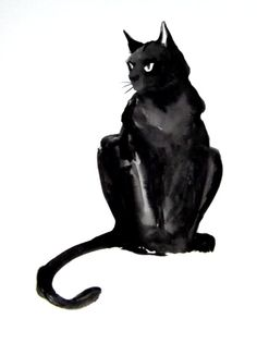 Black cat - I want to do one of my dog