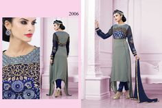 Pakistani Party Anarkali Kameez Bollywood Designer Suit Indian Salwar Wedding…