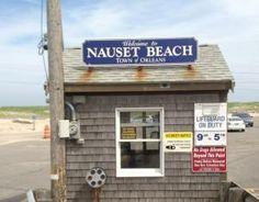 Nauset beach in Orleans, Cape Cod MA