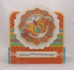 Card by Jenny Gropp  (062013)  G45 Bohemian Bazaar