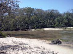 Praia no Geográfico, Rio Aguapeí