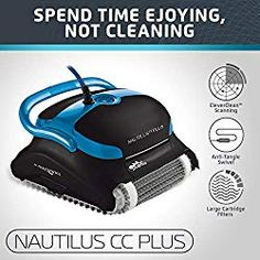 The 18 Best Automatic Pool Cleaners Reviews & Buying Guide for 2019 Best Robotic Pool Cleaner, Best Automatic Pool Cleaner, Pool Vacuum Cleaner, Vacuum Cleaners, Swimming Pool Cleaners, Swimming Pools, Nautilus, Best Pool Vacuum, Pool Supplies