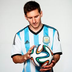 Leo Messi, definitely  one of the greatest soccer players ever and it's impossible not to love him