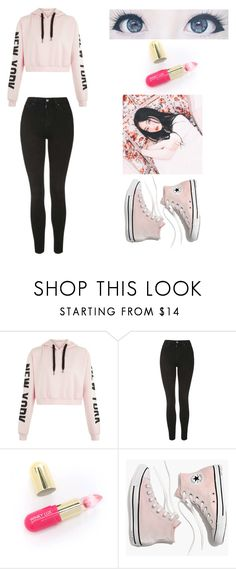 """""""All these lolies call me senpai~"""" by whyamilikethis1122 ❤ liked on Polyvore featuring Topshop, Winky Lux and Madewell"""