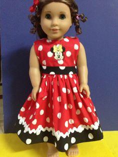 Avenell: American Girl Dress