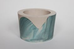 ORE | Turquoise wave pot