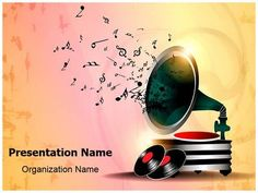 Musical band powerpoint template is one of the best powerpoint gramophone abstract background powerpoint template is one of the best powerpoint templates by editabletemplates toneelgroepblik Images