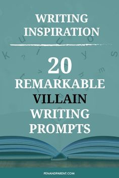 20 Remarkable Villain Writing Prompts Writing Inspiration for writers who want to create villains that are believable and complicated. writing tips for writers character development creative writing prompts novel writing tips self-publishing tip Writing Prompts For Writers, Creative Writing Prompts, Writing Advice, Writing Resources, Writing Help, Writing A Book, Story Prompts, Writers Write, Creative Writing Inspiration