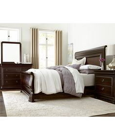 Heathridge King Bed, Only at Macy's - Furniture - Macy's