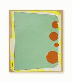 47 / Faiche  / 2015 / encaustic on birch panel / 16h x 14w inches
