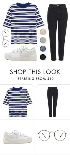 """""""Gube"""" by soym ❤ liked on Polyvore featuring H&M, Topshop and Terre Mère"""