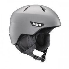 Bern - Weston JR Matte Grey Snow Helmet