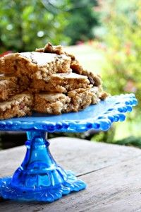 Pecan Chewy Bars  (use only 1 stick of butter or margarine)