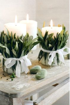 This idea, with babys breath instead???