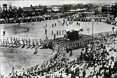 Funeral service for king Go-jong 1919. 3.3