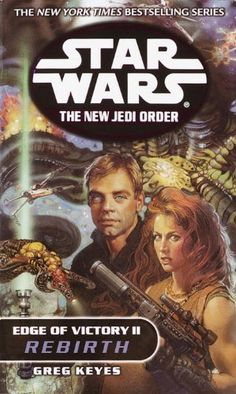 """Read """"Rebirth: Star Wars Legends (The New Jedi Order: Edge of Victory, Book II)"""" by Greg Keyes available from Rakuten Kobo. The Star Wars epic continues its dazzling space odyssey in The New Jedi Order–as Luke and Mara, Leia and Han, and others. Yuuzhan Vong, War Novels, Han And Leia, Star Wars Books, Jedi Knight, Victorious, Stars, Universe, Legends"""