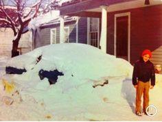 Record snowfall at Calvary Christian college, Paris Ohio, Dr. Johannes Maas, President