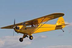 1946 Piper J-3 Plane Photos, Aircraft Photos, Private Plane, Private Jet, J3 Cub, Light Sport Aircraft, Piper Aircraft, Float Plane, Aeroplanes