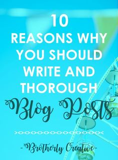 Here are the reasons why you should publish long and thorough blog posts on your blog consistently.