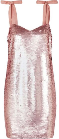 J.Crew - Yokners Paillette-embellished Tulle Mini Dress - Pink, sequins dress, holiday party outfit ideas 2017