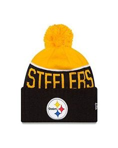 Pittsburgh Steelers 2015 Sport Knit Cuffed Pom Knit Cap   Beanie a7c82f235