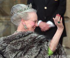 The Daily Diadem: The Danish Emerald Parure Tiara | The Court Jeweller