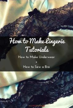 Sure, learning how to make underwear or how to make your own lingerie might sound like a weird concept, but it is actually one of the best DIY decisions you will ever make. There are a lot of things that can go wrong with buying lingerie and underwear at the store. Much like all other store-bought clothing, vanity sizing and confusing numbers can really make it hard to find something that fits comfortably. Unfortunately, ill-fitting undergarments are even more uncomfortable than those…