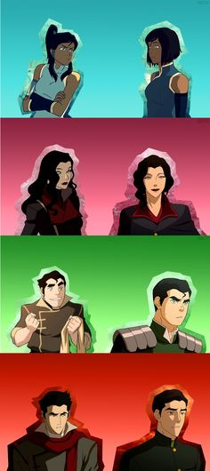 Korra look at that character transformation!