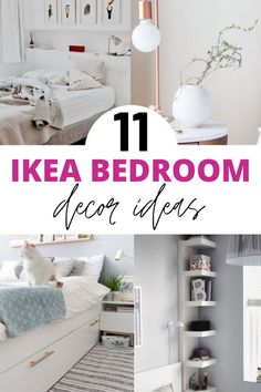 11 IKEA hacks for bedroom. These IKEA hacks are great for anyone on a budget looking to transform your bedroom. Including IKEA Kullen nightstand hack, IKEA chest of drawers hack and IKEA midcentury hack ideas. Ikea Hacks, Ikea Hack Storage, Diy Hacks, Storage Ideas, Ikea Bed Frames, Ikea Chest Of Drawers, Ikea Bedroom Furniture, Bedroom Hacks, Bedroom Ideas