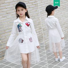 696585fb483 Aliexpress.com   Buy Teen Girl Sets 9 10 11 12 13 14 16 5 Years Cotton Top  + Mesh Skirt 2pcs Children Clothes Fashion Causal Kid Girls Clothing Set  from ...