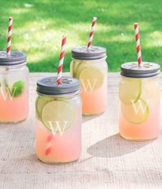 cute personalized mason jars http://rstyle.me/n/wtmhrr9te I want some when I get a house