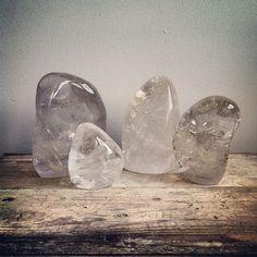 Quartz ghost rocks #crystals