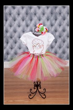 Strawberry Shortcake Tutu Costume