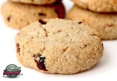 Cooking with Bernard: White Chocolate and Cranberry Oatmeal Cookies