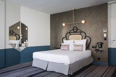 Located in the 9th Arrondissement, Hotel Panache revives the spirit of Art Nouveau.