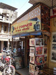 Bollywood Posters in Chor Bazaar