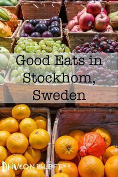 Good eats in Stockholm, Sweden: Eating Well and Enjoying the Stockholm Beer Scene