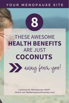Coconut Health Benefits   You'll be surprised with the list of health benefits you can get from coconuts! Find out what makes coconuts healthy, as it holds its glorious crown on being one of the today's awesome superfoods!   Health Benefits from Coconuts. Coconut as a Healthy Food Option. What Makes Coconuts Healthy?   #CoconutHealthBenefits #CoconutHealthyFood #CoconutNaturalRemedy Coconut Chia Seed Pudding, Coconut Smoothie, Superfood Salad, Superfood Recipes, Healthy Food Options, Healthy Snacks, Menopause Relief, Coconut Health Benefits, Weight Loss Snacks
