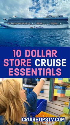 Dollar store shopping for a cruise is a GREAT way to affordably prepare for your cruise.  For some, packing for a cruise can be confusing and expensive, but it doesn't have to be with these dollar store items! By leveraging dollar store shopping, you can save lots of money on toiletry and stateroom essentials (and fun extras!), and pack for your cruise like a pro. Check out our dollar store haul, and dollar store hacks with this fun list of 10 dollar store cruise finds! #dollarstore #cruise Cruise Packing Tips, Travel Packing, Travel Usa, 10 Dollar Store, Dollar Store Hacks, Best Cruise, Cruise Vacation, Mini First Aid Kit, Fun List