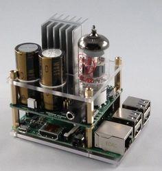 Raspberry Pi goes Hi-Fi with audio valve amp   Electronics Weekly