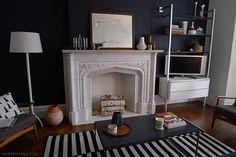 Decorative logs for a decorative fireplace | Door Sixteen