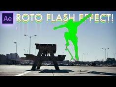 Adobe After Effects Tutorial: BODY FLASH Rotoscoping Effects (How to / CC 2017) - YouTube