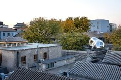 Gallery of Hutong Bubble 218 Urban Renovation / MAD Architects – 3 Galerie von Hutong Bubble 218 Urban Renovation / MAD Architects – 3 Front Courtyard, Courtyard House, Urban Fabric, Ancient Buildings, Spiral Staircase, Ground Floor, Futuristic, Architecture Design, Architecture Student