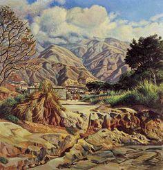 El Ávila desde Maripérez, 1954 Manuel Cabré