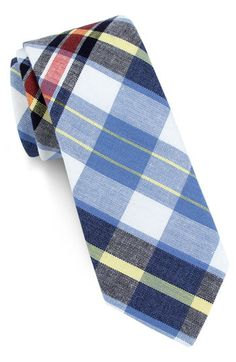1901 Plaid Skinny Tie available at Nordstrom