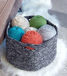 How To Crochet A Double Good Crochet Basket