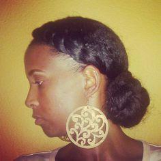 Twist and Bun hair tutorial http://blackgirllonghair.com/2012/11/twist-and-bun/#