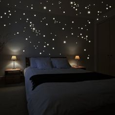 Wandkings wall stickers 250 x fluorescent dots for a starry sky Fluorescent and glow-in-the-dark, http://www.amazon.com/dp/B00UAY6J1U/ref=cm_sw_r_pi_awdm_2z75wb1DY0RDX